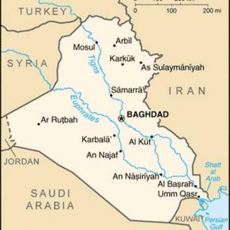 Satellite photomap iraq , 2003
