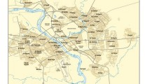Map city of Mosul