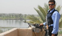 iraqi police man