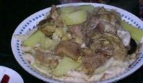 Soak lamb Iraqi cuisine