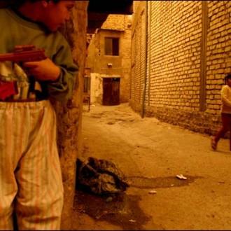 An Iraqi boy