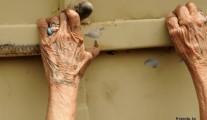 Hands of Iraqi woman