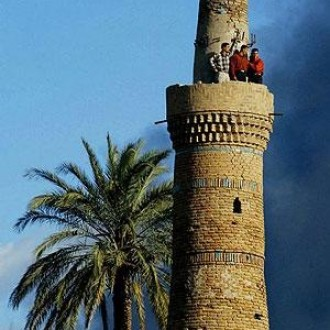 Old tower in Kirkuk