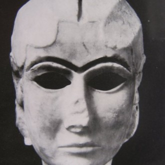 A woman's Sumerian face