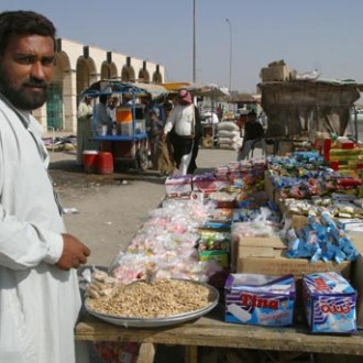 A vendor from Samawah | iraqpictures.org