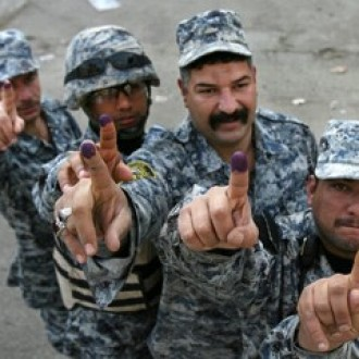 Early voting in Iraq