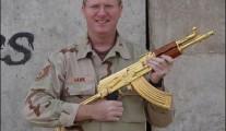 AK-47 Saddam Hussein