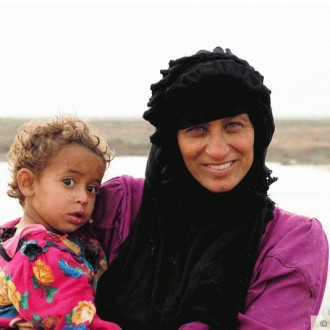 faces East from Iraq