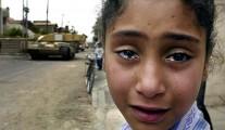 Crying Iraqi girl