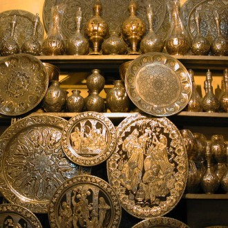 Copper market in Baghdad