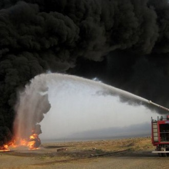 The explosion of oil