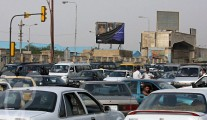 Traffic jam in Iraq