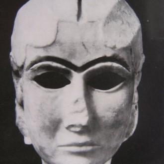 A woman's Sumerian face