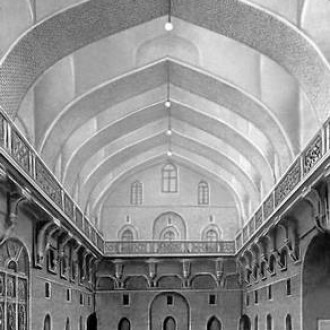 Ukhaydir palace. Holy room