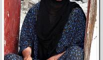 Iraqi old woman
