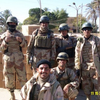 soldiers from Iraq army