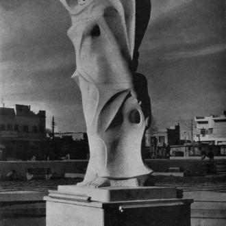 """Sculpture """" Iraqi woman"""""""